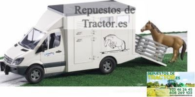 CAMION TRANSPORTE ANIMAL+CABALLO