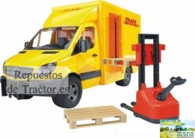 CAMION TRANSPORTE DHL