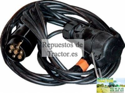CABLE ENCHUFE MACHO HEMBRA 5M