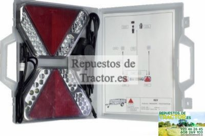 KIT SEÑALIZACION REMOLQUES