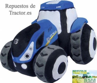 TRACTOR DE PELUCHE DE FIELTRO NEW HOLLAND