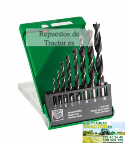 SET BROCAS 10 PCS. HITACHI