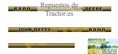 Muchos Tamaños y Colores-Tractor-Segadora Largo John Deere Pegatina//Adhesivo