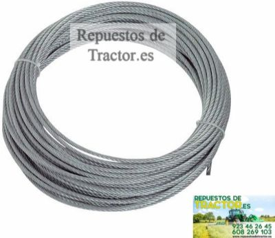 CABLE ACERO 6 MM