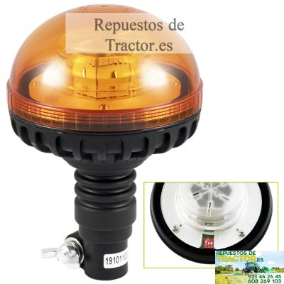 ROTATIVO LED 12-24V BASE FLEXIBLE