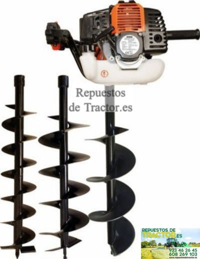 BARRENA 52 CM3 3 BROCAS D.100-150-200 MM ELB52