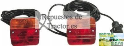 KIT PILOTOS REMOLQUE CABLE 7M (BLISTER)