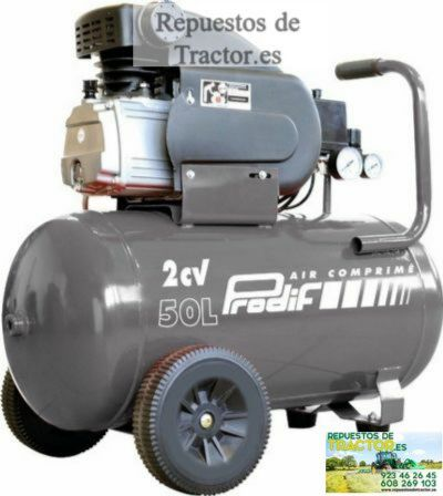 COMPRESOR 50L 2HP 8 BARS 230V