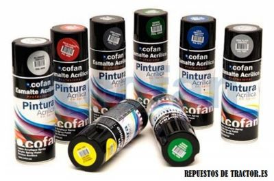 PINTURA EN SPRAY NEGRO SATINADO 400 ML
