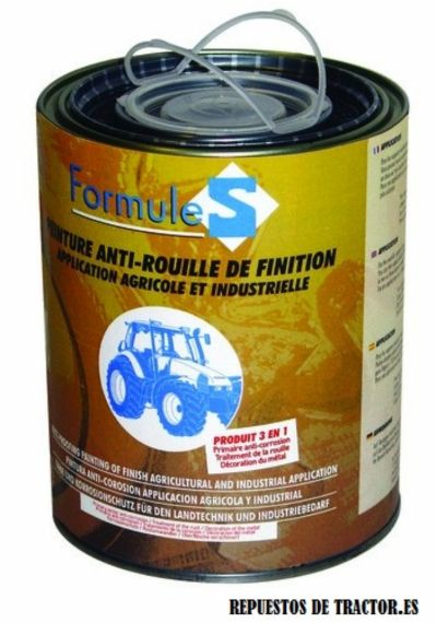 PINTURA ANTIOXIDANTE AMARILLA NEW HOLLAND 1L